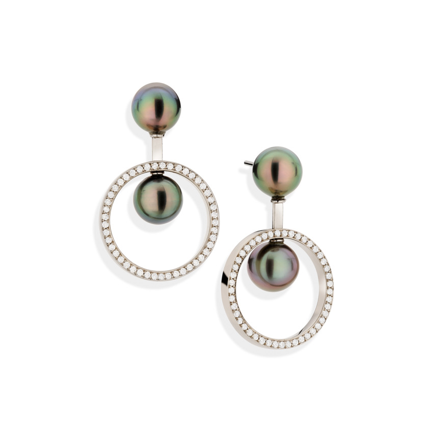 Swinging Circles Earrings