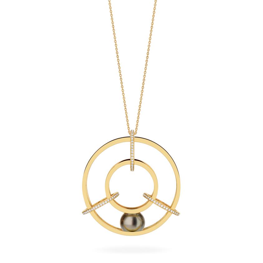 Medium Spinning Wheel Pendant