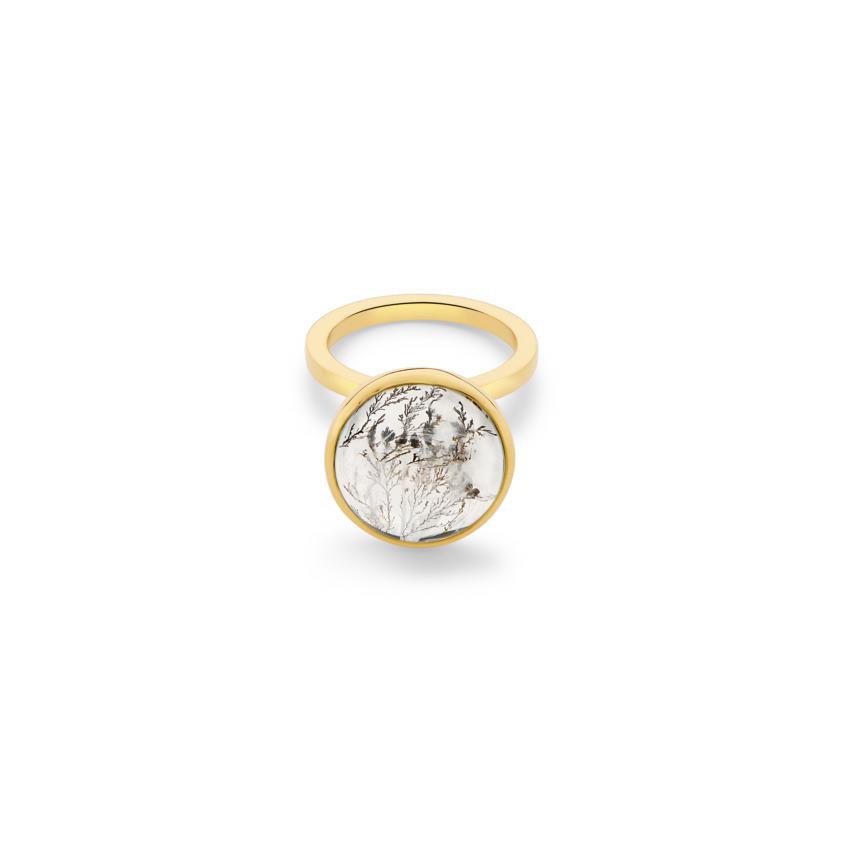 Lunar Charm Ring