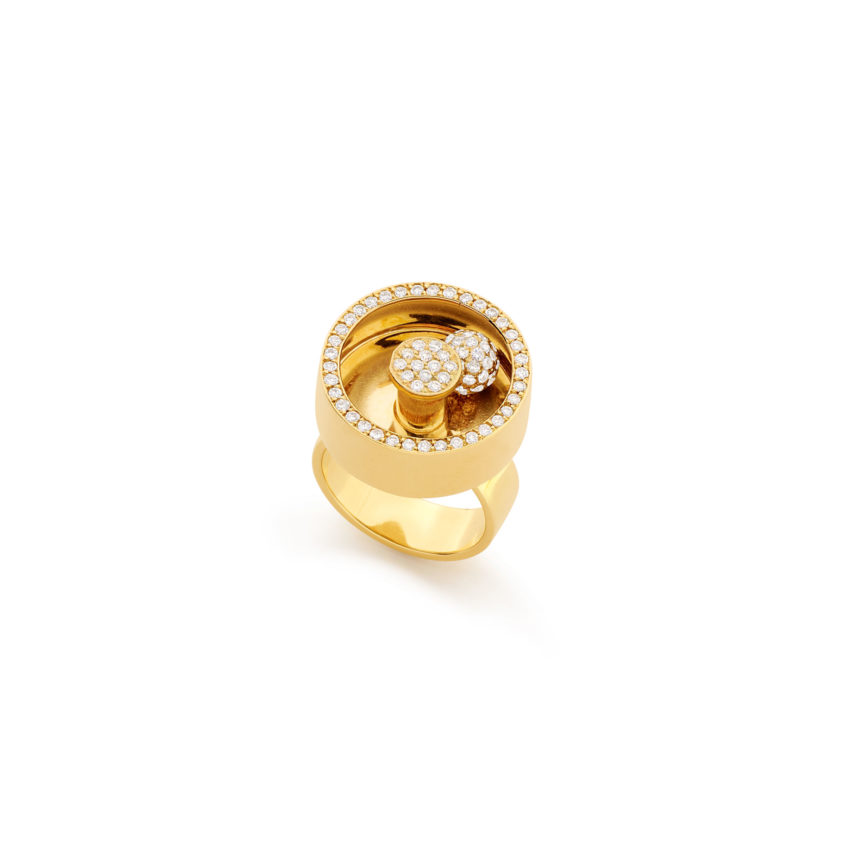 Spinning Diamond Ring | Yael Sonia