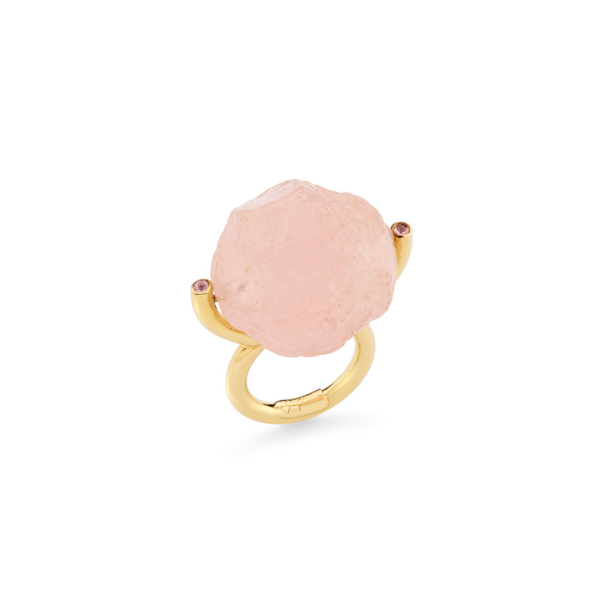 Hammered Brilliant Fancy Ring