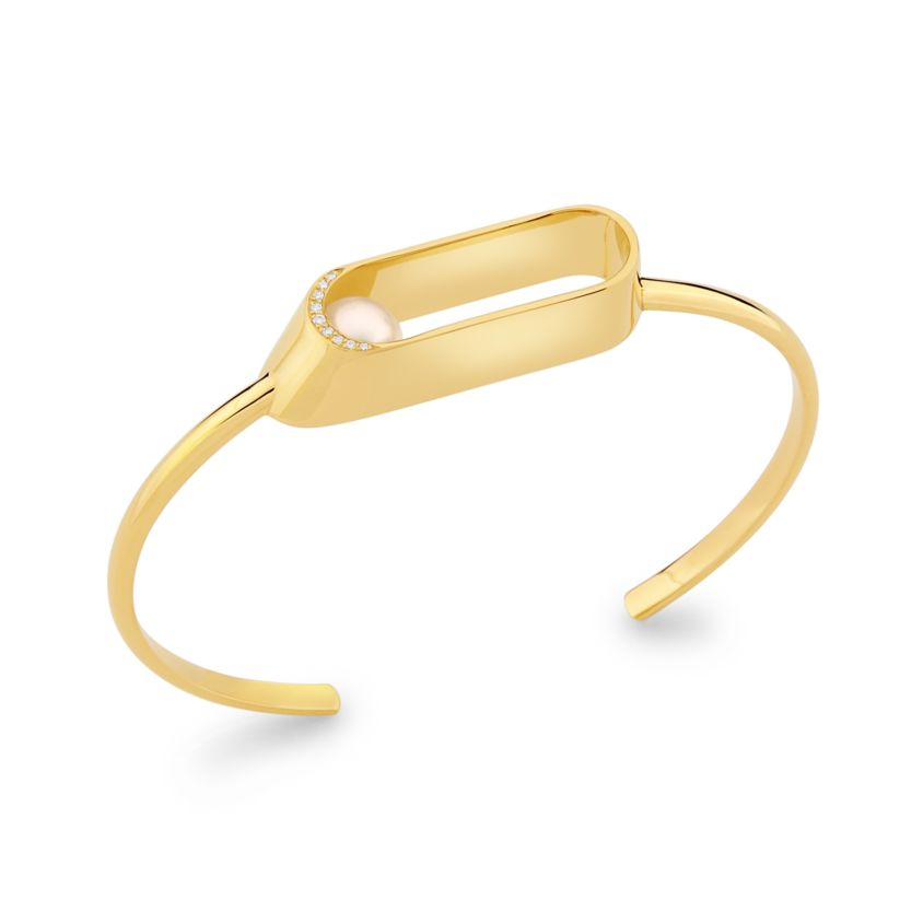 Ellipse Brilliant Cuff