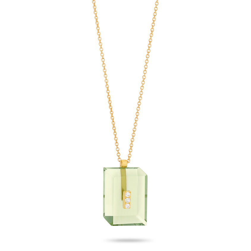 Deco Rectangle Pendant